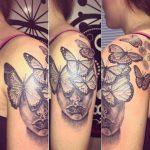 face-vlinder
