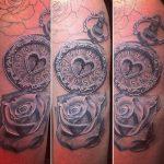 rose-klok